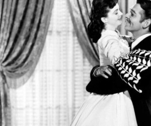 black and white, films, and Gone with the Wind image
