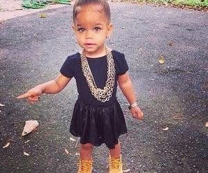 baby, beautiful, and dress image