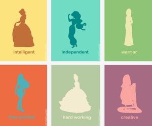 princess, disney, and beauty and the beast image