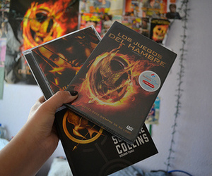 book, hunger games, and quality image