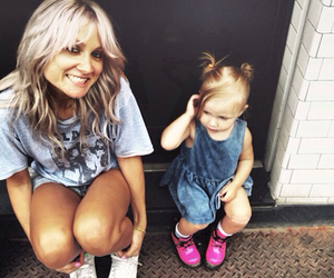 lux, lou teasdale, and baby lux image