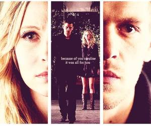 caroline, in love, and klaus image