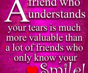 quote, friends, and smile image