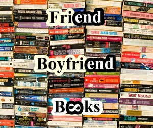 book, boyfriend, and friend image