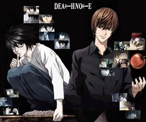 anime and deathnote image
