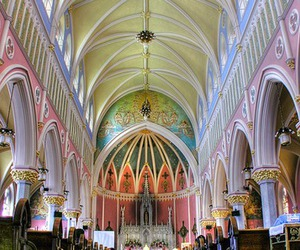 architecture, church, and pastel image