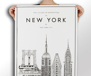 new york, manhattan, and ny image