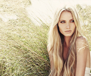beauty, make up, and blonde image