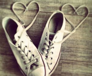 all stars, converse, and heart image