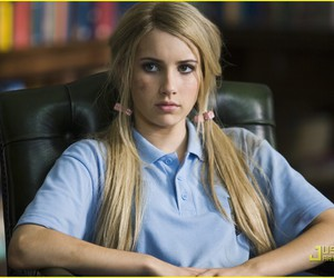 emma roberts, wild child, and blonde image