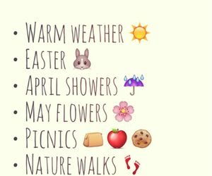 april, easter, and flowers image