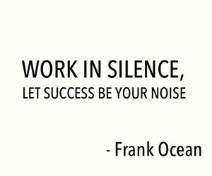 quote, frank ocean, and success image