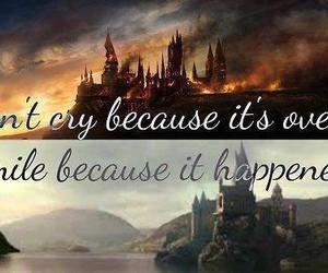harry potter, hogwarts, and cry image