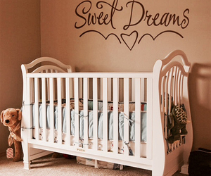 baby, Dream, and bed image