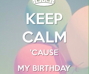 birthday and keep calm image