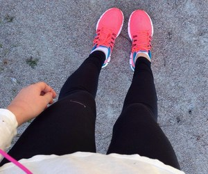 fitness, girly, and jogging image