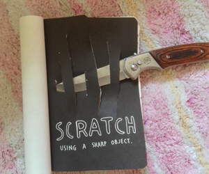 book, keri smith, and destroy image