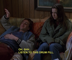 freaks and geeks, grunge, and quote image