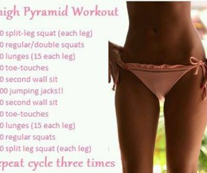 thigh gap, workouts, and thigh workout image