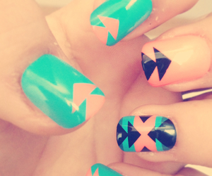 colors, spring, and nails image