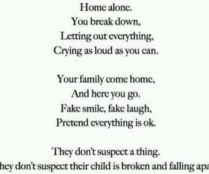 sad, broken, and quotes image