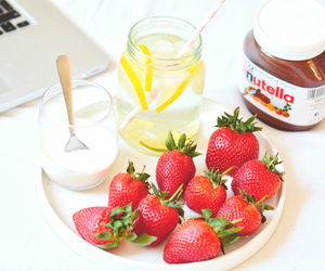 nutella, food, and healthy image