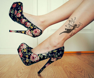 flower and shoes image