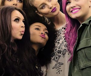 little mix, demi lovato, and perrie edwards image