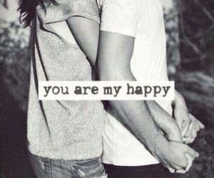 love, happy, and couple image