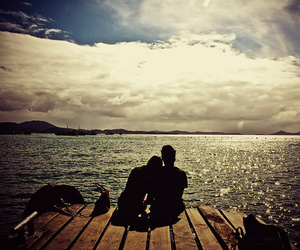 love, boyfriend, and clouds image
