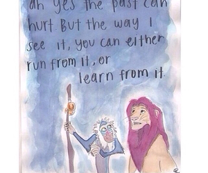 childhood, quote, and the lion king image