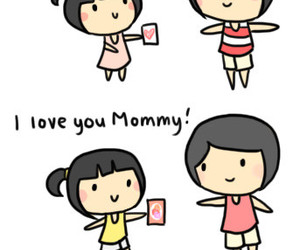 love, mom, and mommy image