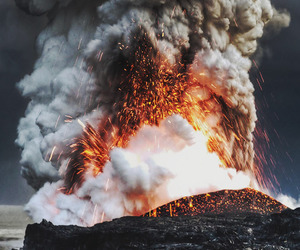 fire, hawaii, and image image