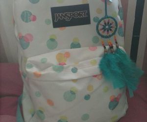 backpack, diy, and dreamcatcher image