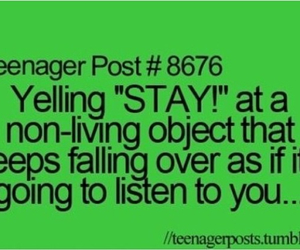 falling, listen, and yelling image