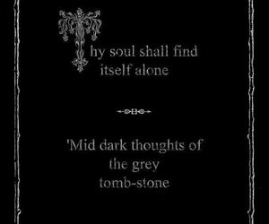 edgar allan poe, quote, and Darkness image