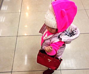 baby, fashion, and pink image