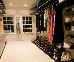 closet, clothes, and colorful image