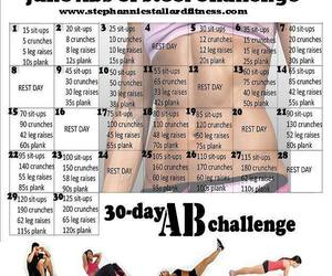 challenge, exercise, and heathy image