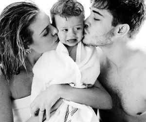 black and white, family, and francisko lachowski image