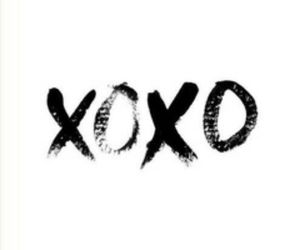 xoxo, quotes, and kiss image