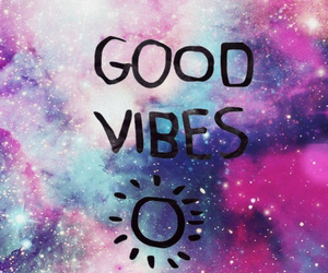 galaxy and good vibes image