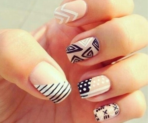 colorful, fashion, and nails image