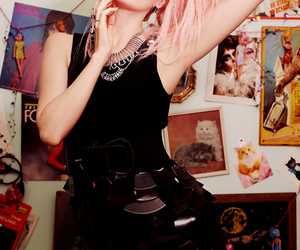 audrey kitching, photography, and pink hair image