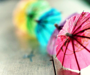 umbrella and pink image