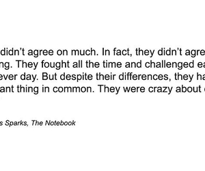 quote, the notebook, and love image