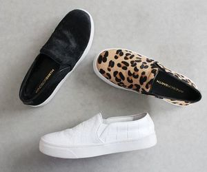 black, leopard, and style image