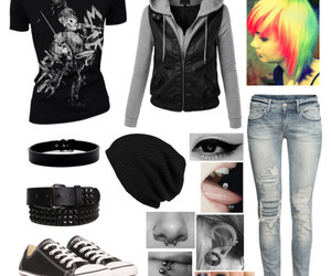 mcr, my chemical romance, and Polyvore image