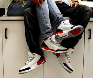 couple, jordan, and swag image