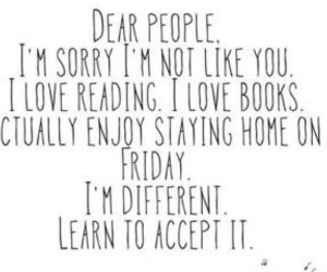 accept, books, and bored image